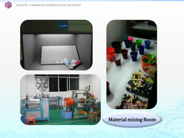 OYI Gifts company profile-materia mixing room