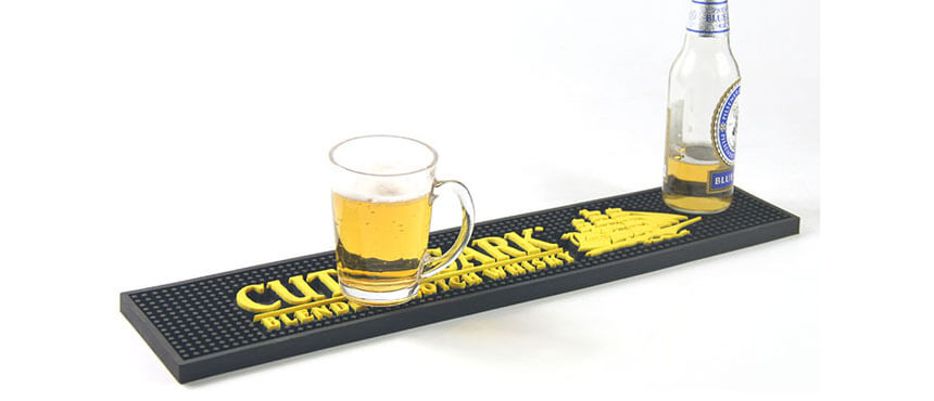 promotion pvc custom bar mats