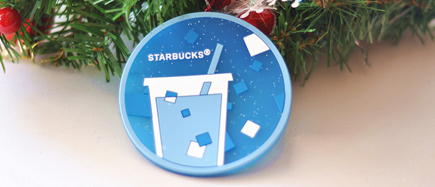 custom pvc promotiion coaster