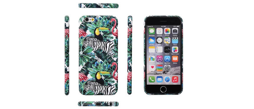 Water Decals plastic-phone-case