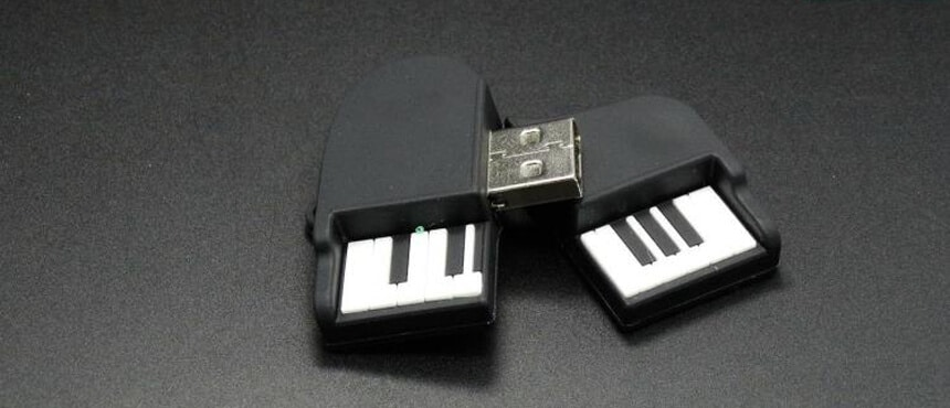 custom soft case USB flash drivers