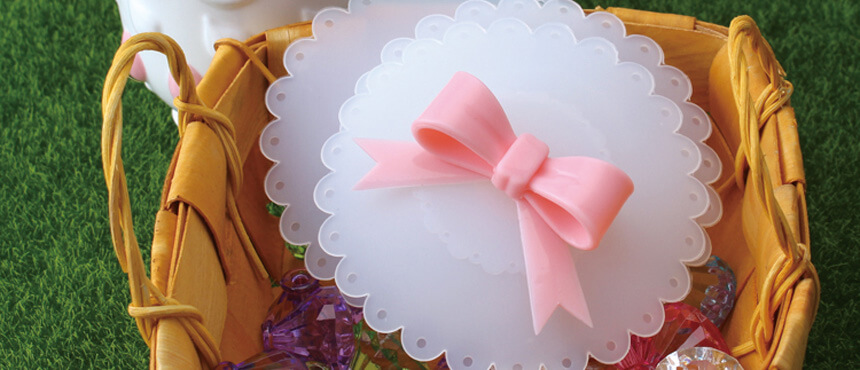 silicone butterfly cup cover