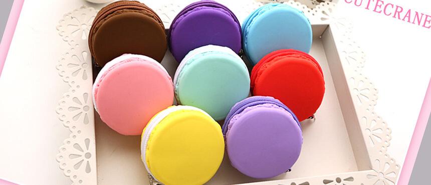 silicone mini candy bag zipper purse