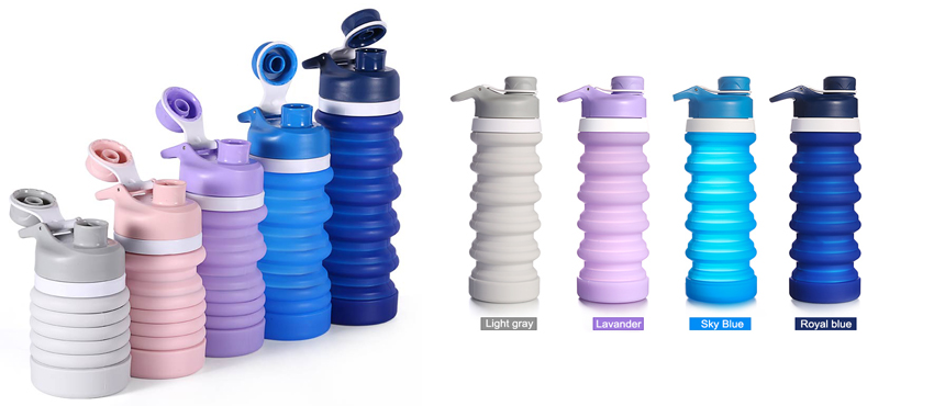 S7 Silicone folding water bottles fun gifts ideas eco-friendly