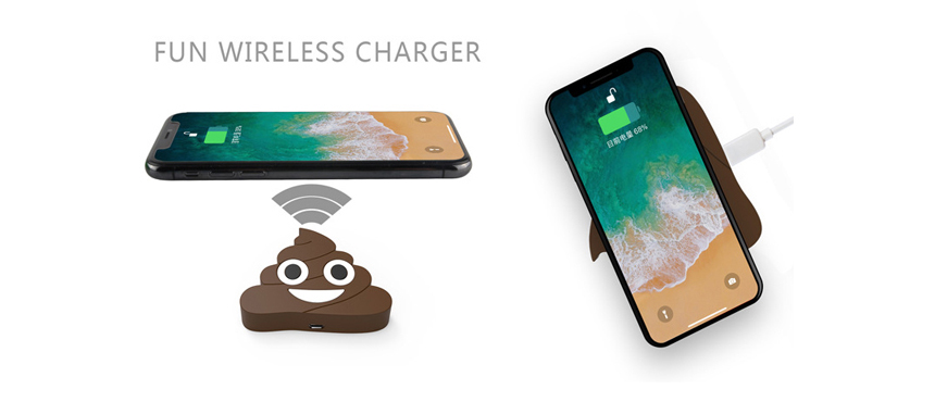 custom wireless charger fun gifts ideas soft skin