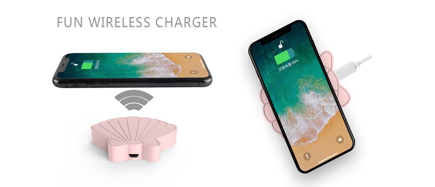 custom butterfly wireless charger gifts soft skin