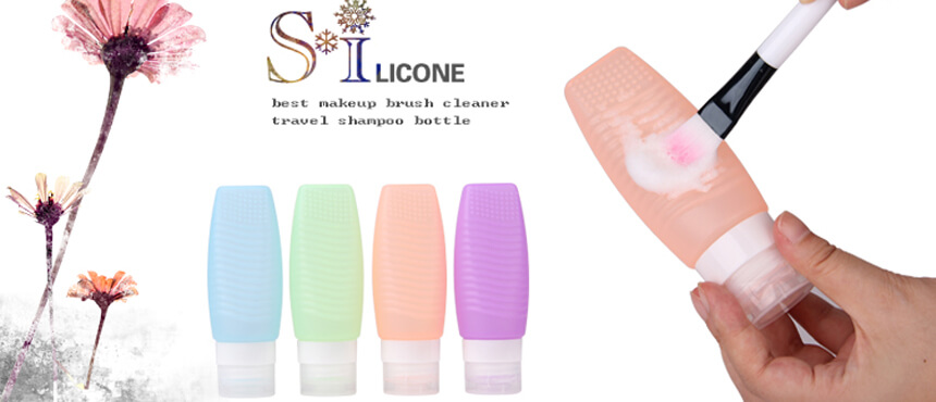 silicone travel shampoo bottles best makeup brush cleaner