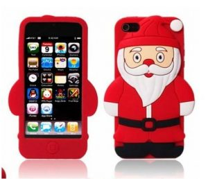 Merry Christmas silicone phone case