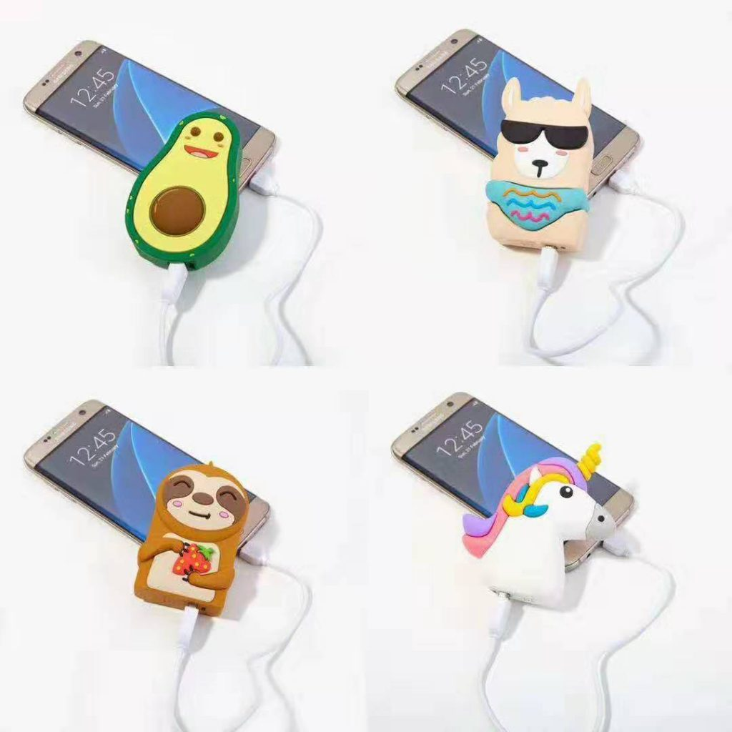 cartoon creative power bank
