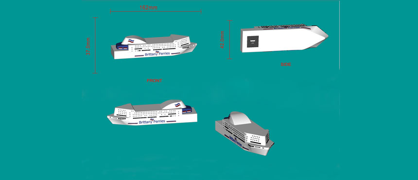 boat design power bank