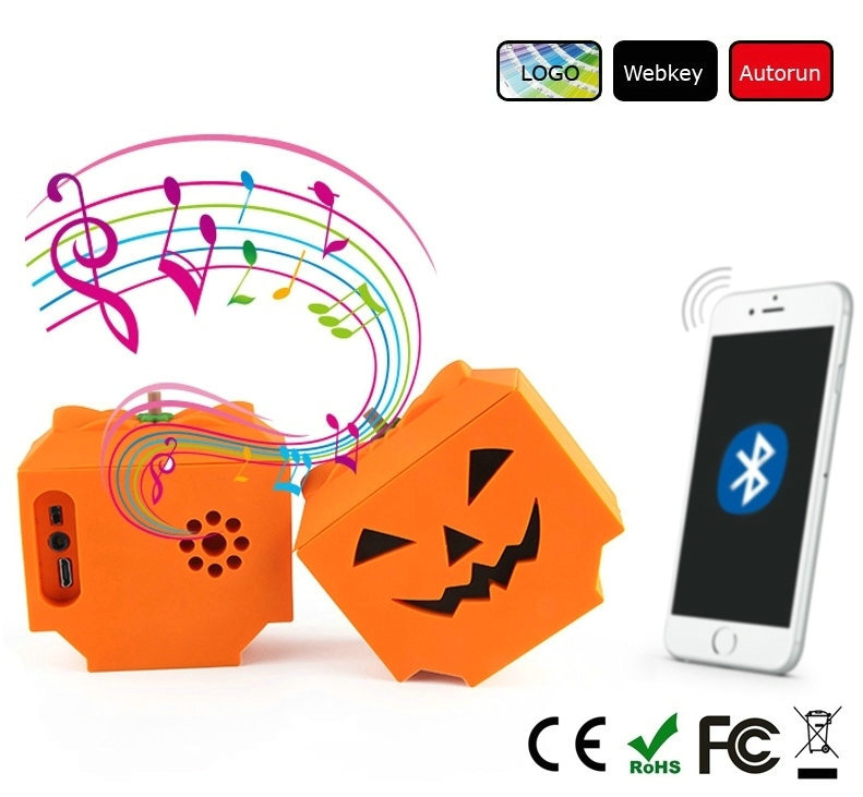 Halloween gifts creative WIRELESS CARTOON Bluetooth speaker