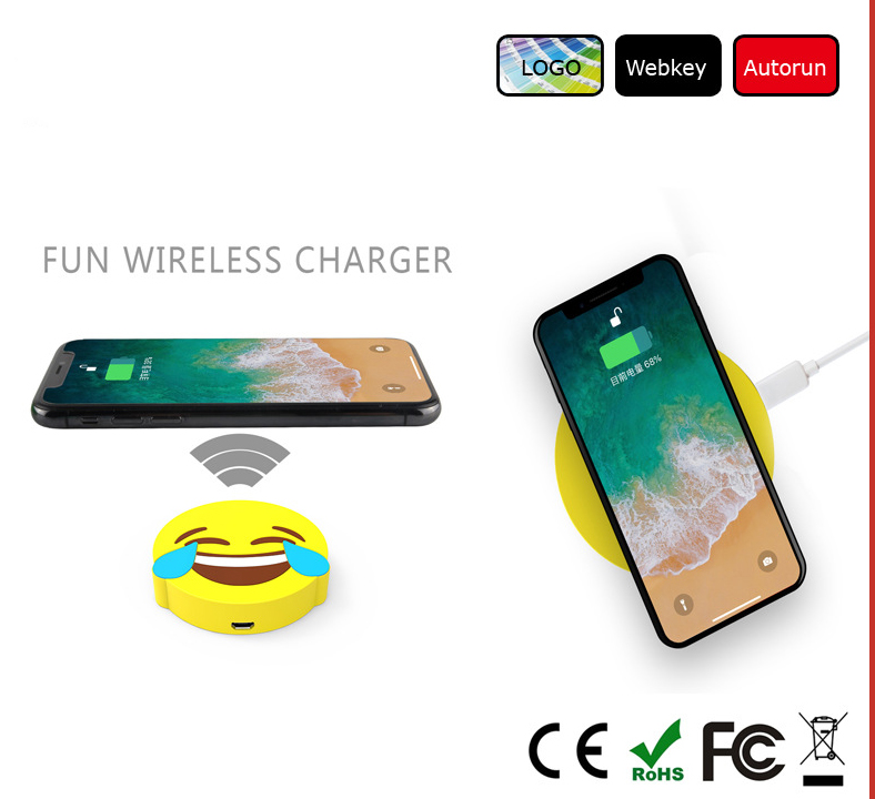 emjoy design cartoon wireless charger
