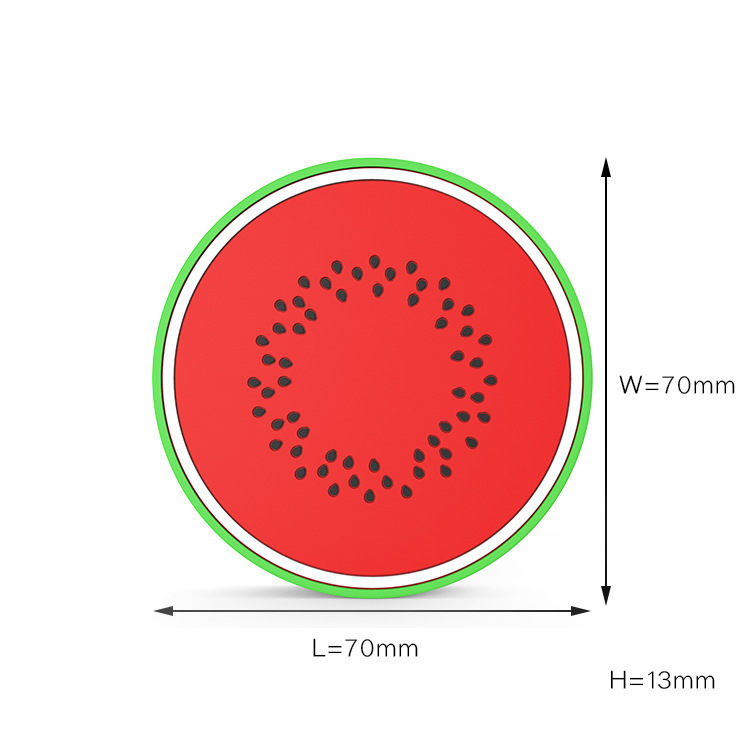 watermelon design cartoon wireless charger