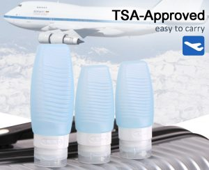 silicone travel bottles TSA approved