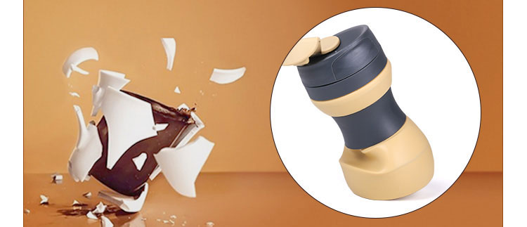 WP017 foldable silicone coffee cup 3