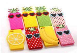 fruit silicone phone case
