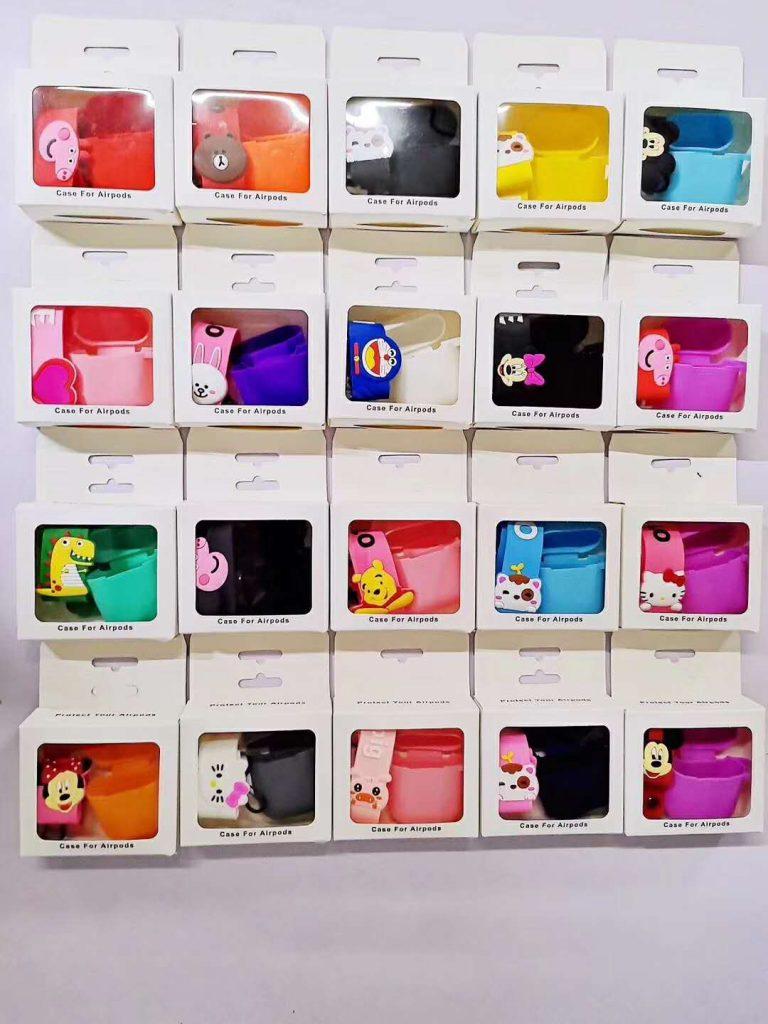 Cartoon Custom airpod silicone case