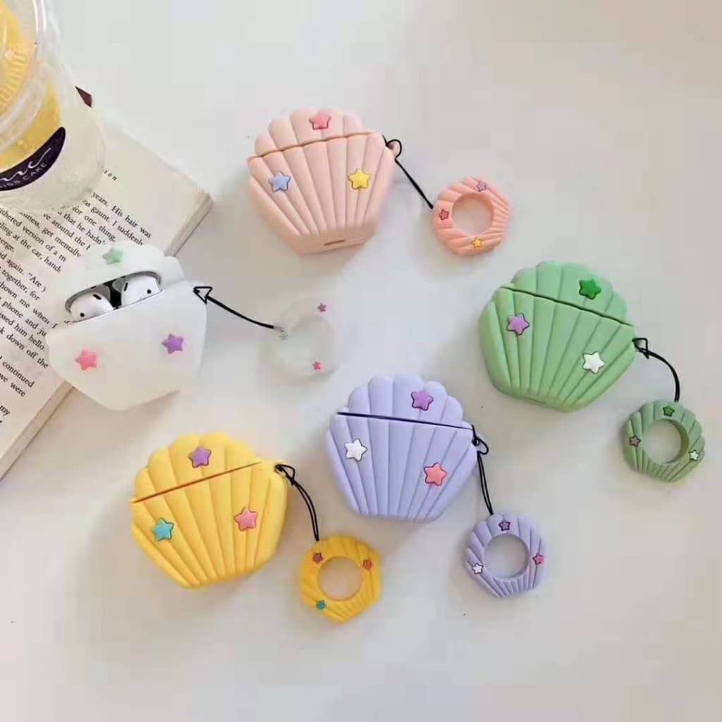 cartoon silicone airpods case