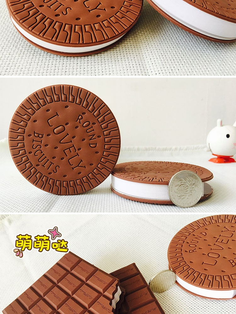 chocolate soft case notepad