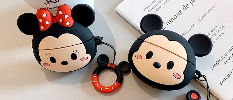 Cute silicone airpods case cover