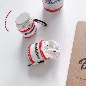 bottle design silicone airpods case cover