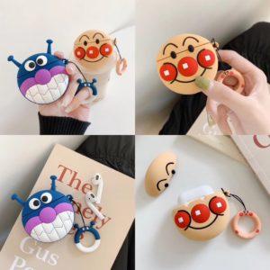 Cartoon design silicone airpods case cover cute