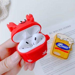 Custom design silicone airpods case cover