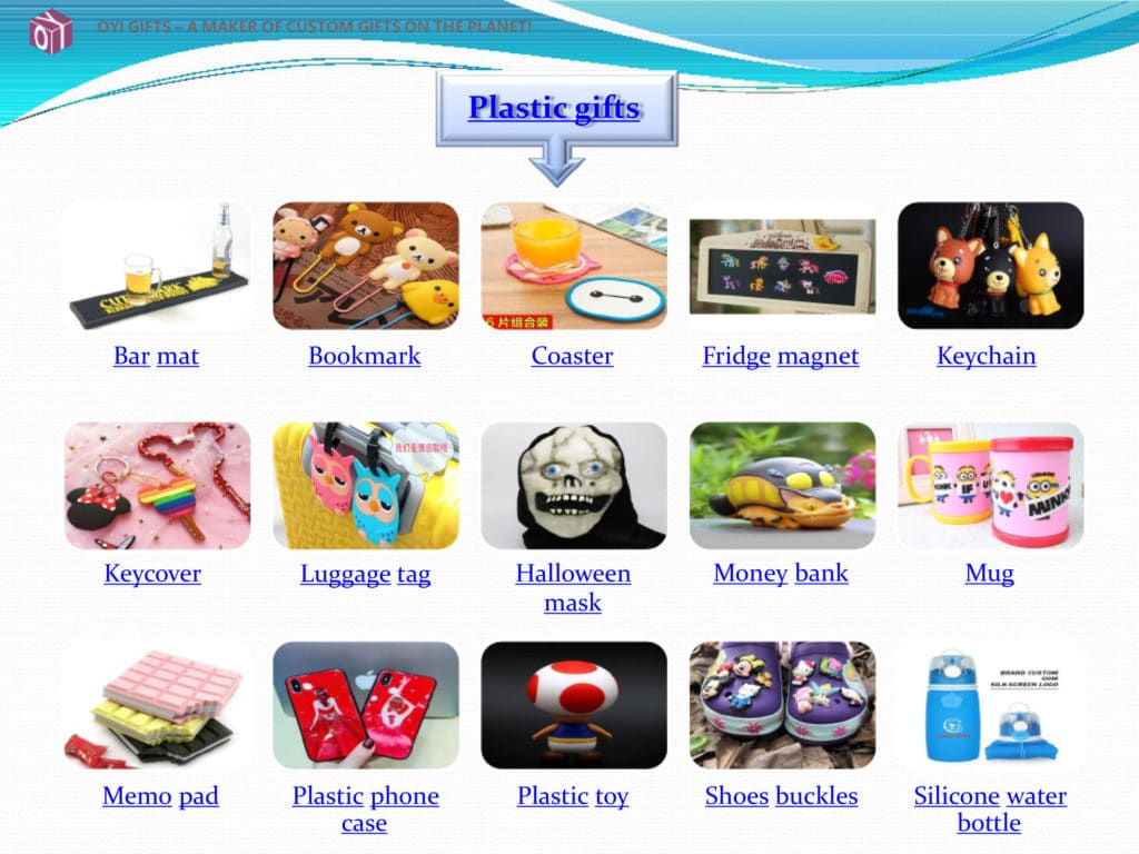 Plastic gifts show