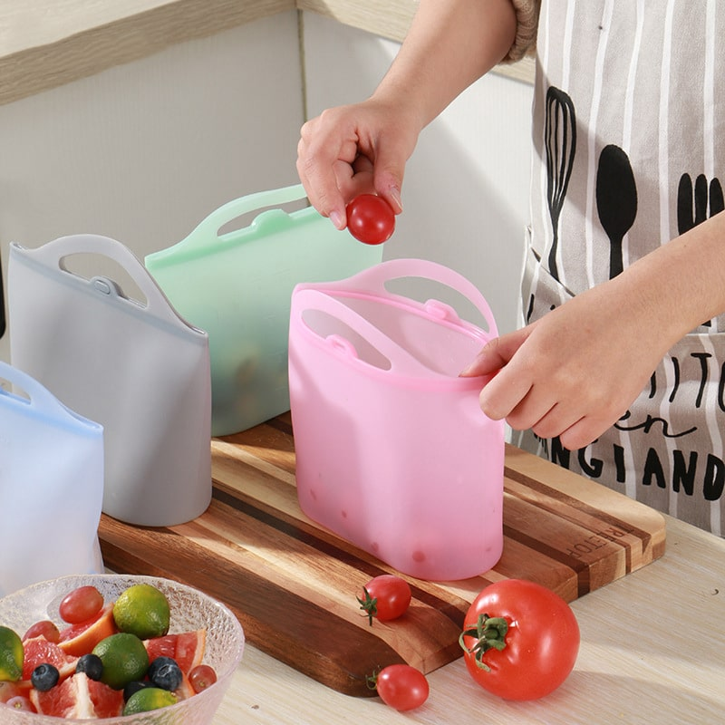 silicone food bag 1