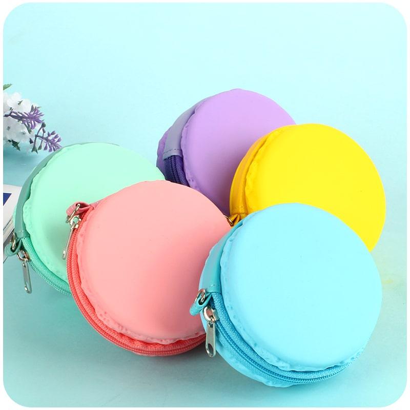 cute silicone coin purse