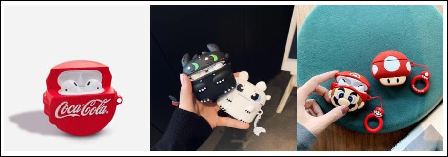 custom silicone airpods case