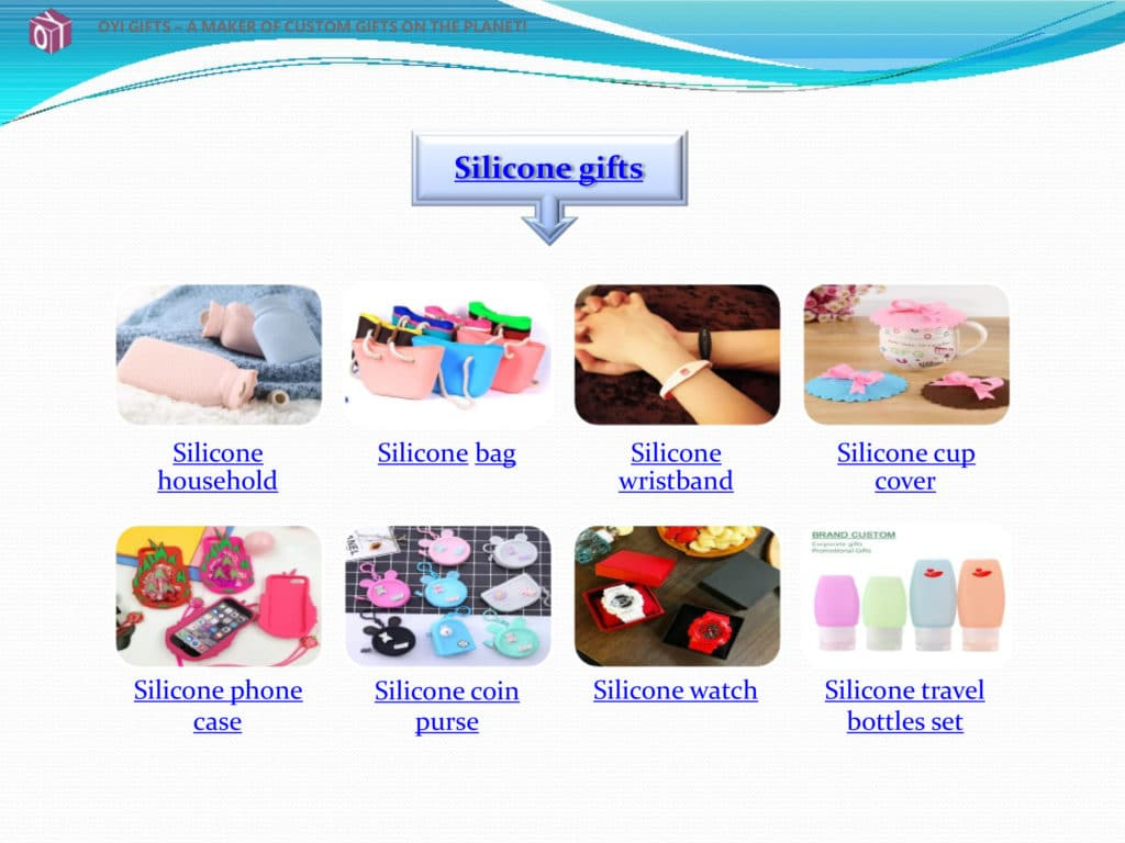 OYI Gifts silicone gifts show