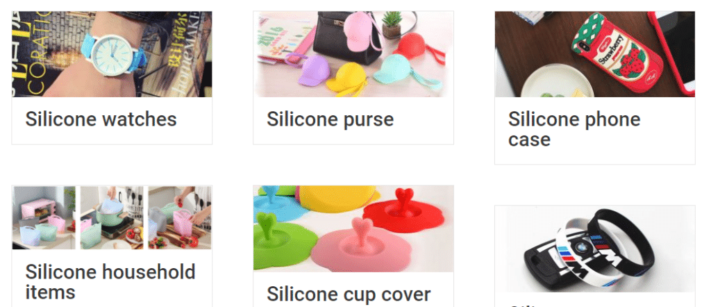 custom silicone gifts