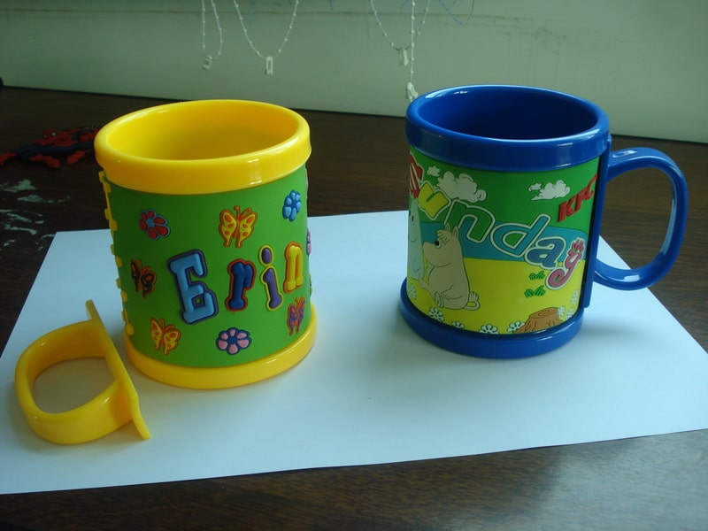 cartoon 3D plastic mug