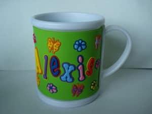 cartoon kids mug